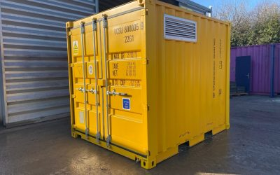 10ft x 8ft COSHH Store (bunded chemical store)