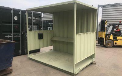 Refurbished anti-vandal 10ft x 8ft Smoking Shelter