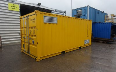20ft x 8ft COSHH Store (bunded chemical store)
