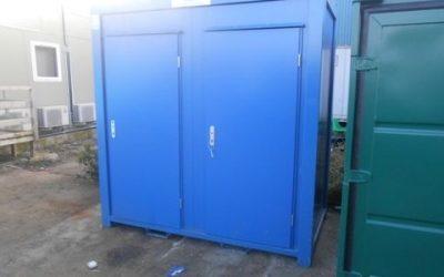 New 1 + 1 Toilet Unit